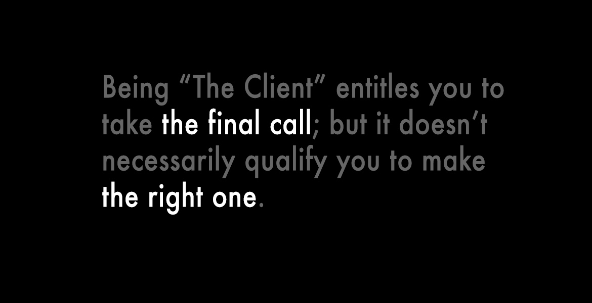 Client Agency Relationships