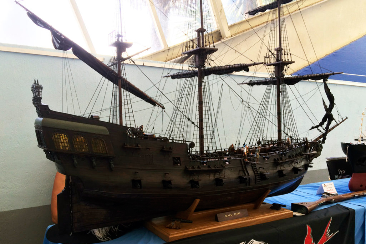 The Black Pearl, at Exposition Figuri'Nice 2014