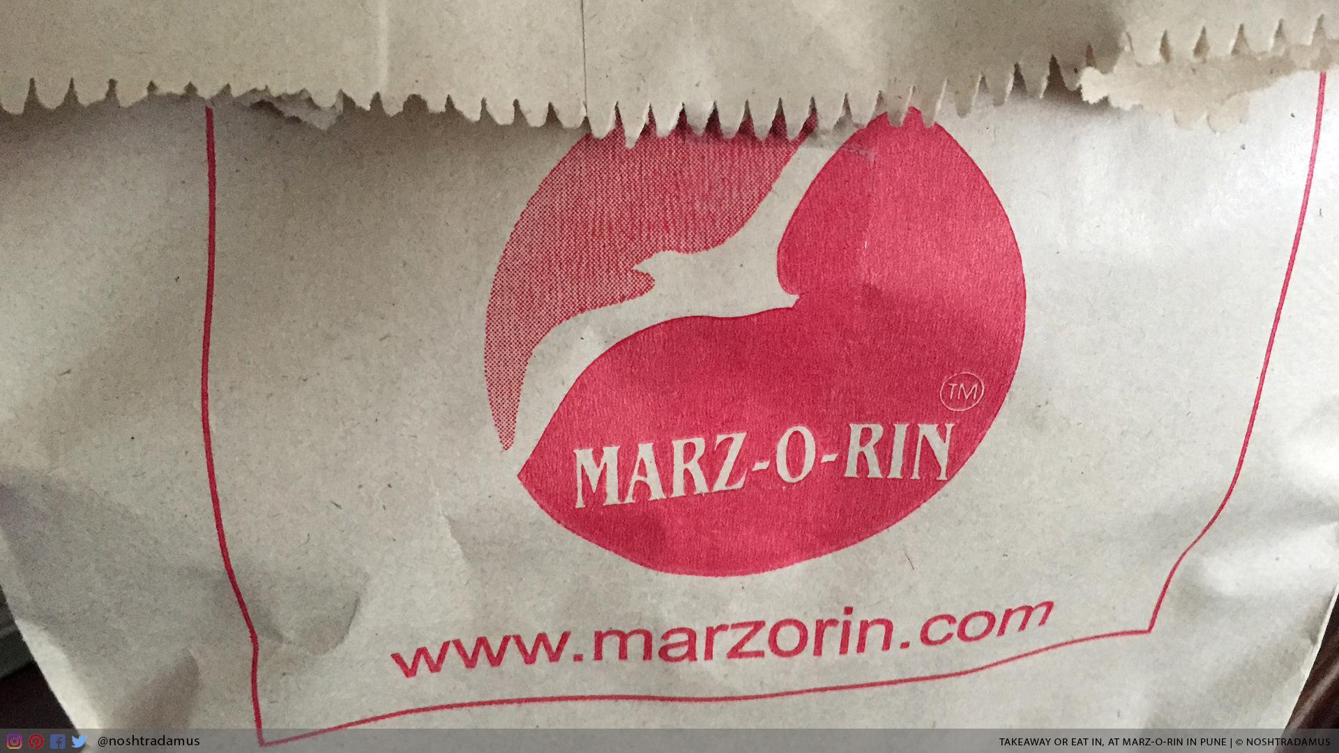 Takeaway Bag, at Marz-O-Rin in Pune