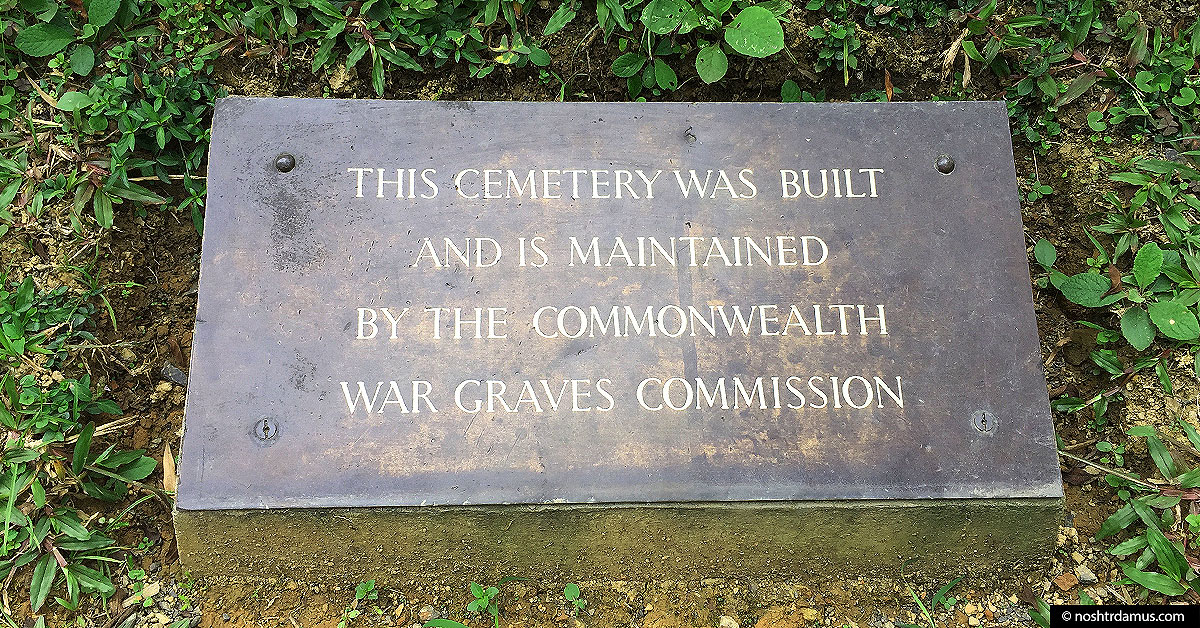 Kohima War Cemetary - Built and maintained by the Commonwealth War Graves Commission