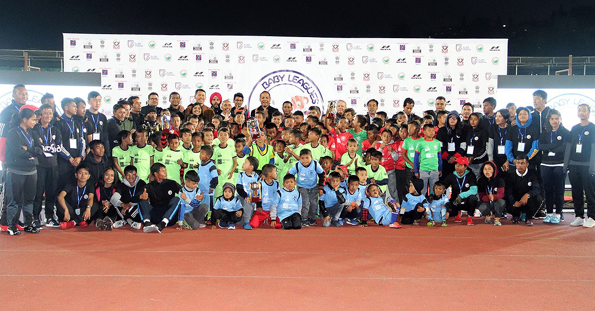Baby League, Image Courtesy Meghalaya Football Association