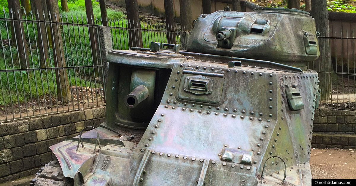 World War II M3 Grant Tank on Officers Hill Kohima 01