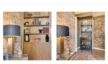 Incredible Wine cellar: How to take a closet and turn it into a Speak Easy