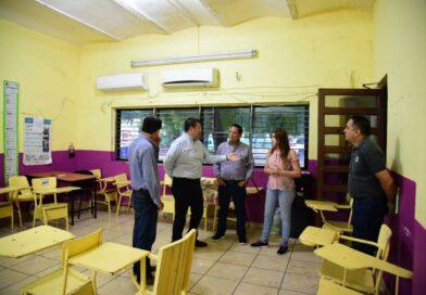 Rehabilitarán escuela Samuel M. Gil, afectada por lluvias