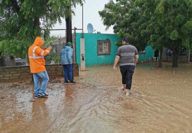 Diagnostican afectación por inundaciones en Angostura
