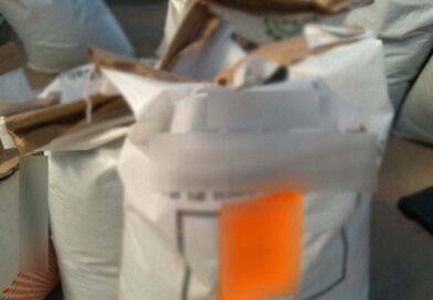 Hallan 78 kilos de crystal en costales para chile molido en Sonora
