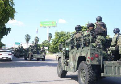 Fuerzas Especiales, Policía Estatal y Policía Municipal continúan con recorridos en Culiacán
