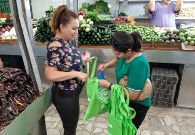 Se suman habitantes de Culiacán a sustitución de bolsas de plástico por reutilizables
