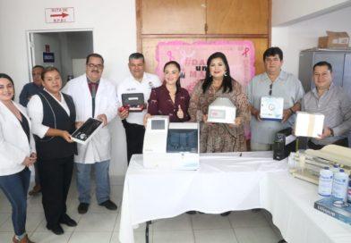 Equipan centros de salud en La Reforma y Costa Azul