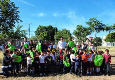Fomenta SEDESU la educación ambiental en niños de preescolar