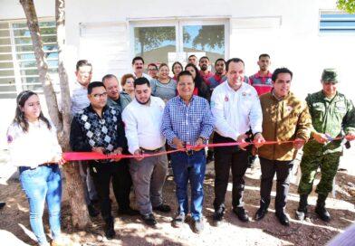 Inauguran oficinas de Protección Civil en Salvador Alvarado