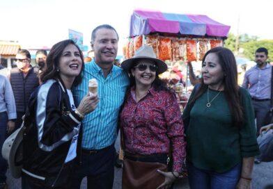 Anuncia Quirino reposición del alumbrado del bulevar Rosales