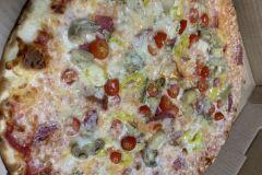 Antipasto-pizza
