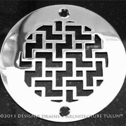 Architecture Series - Round Decorative Shower Drains