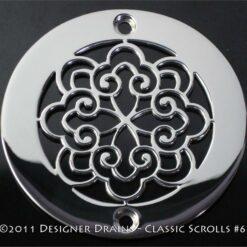 Classic Series - Round Decorative Shower Drains