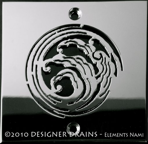Elements Nami™ | Replacement For Square Oatey 42238 & 42237, Designer Drains