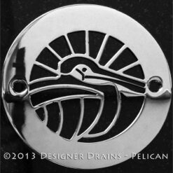 Oceanus Series - Round Decorative Shower Drains