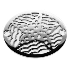 round star fish shower drain 3.25 wide
