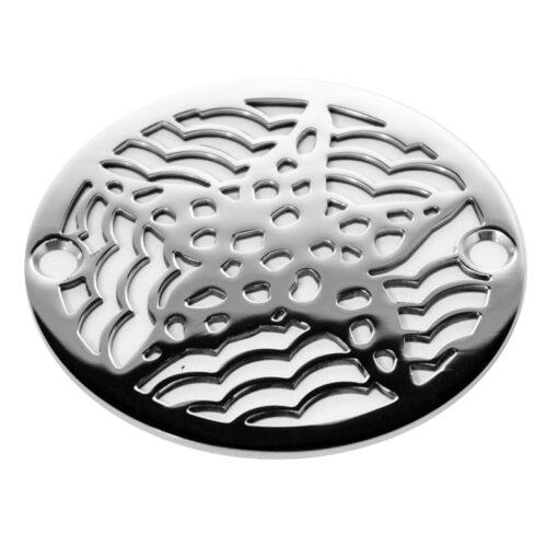 round star fish shower drain 3.25 wide