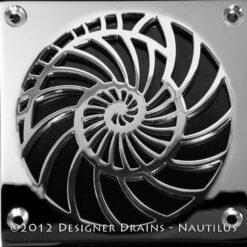 Laticrete Nautilus Shower Drain