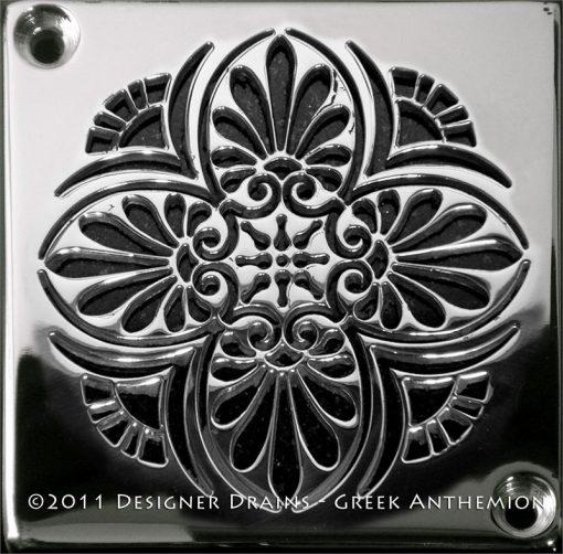 Designer Drains | Schluter Greek Anthemion
