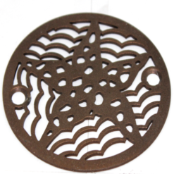oiled rubbed bronze 3.25 round shower drain