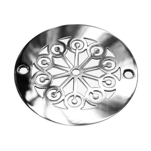 4 Inch Round Shower Drain Cover | Classic Lerna Seal No. 2™