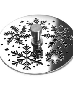 designer drains kitchen sink stopper snowflakes