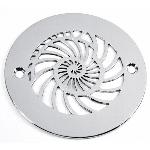 nautilus 4 inch round shower drain