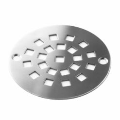 Stonehenge™ | Round Shower Drain Replacement For Oatey, Sioux Chief, AB&A, ProFlo & More | Designer Drains