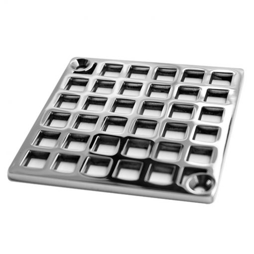 Geometric pattern for Schluter shower drain