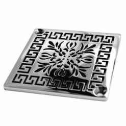 Schluter-Kerdi Shower Drain - Square Drain Cover Replacement by Designer Drains