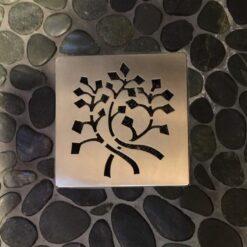 EBBE Drain, Designer Drains, Nature Leaves