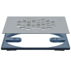 Sioux Chief - Round To Square Adapter | Designer Drains - 821-2QAS