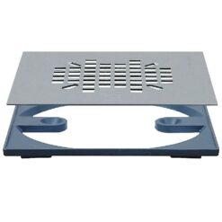 Sioux Chief - Round To Square Adapter | Designer Drains - 821-2QAS