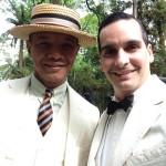 Paul Calderon and me