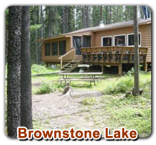 Brownstone Lake Outpost Cabin | Walleye - Northern Pike - Perch