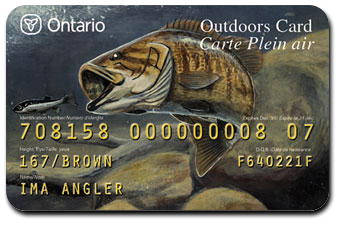 Get Your Ontario Outdoors Card