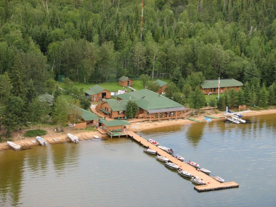 Cat Island Lodge Aerial View