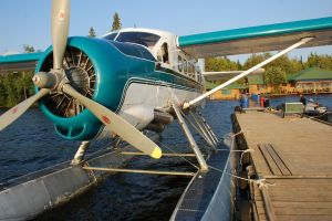 De Havilland Float Plane - trusty favorite for fly in fishing.
