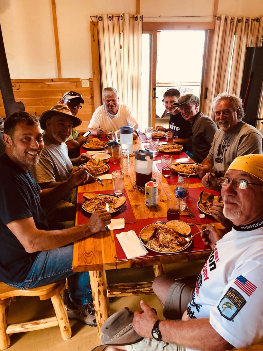 American Plan Dinner at Lount Lake Lodge