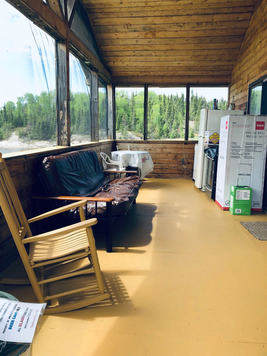 Lount Lake Mini Lodge Screen Porch