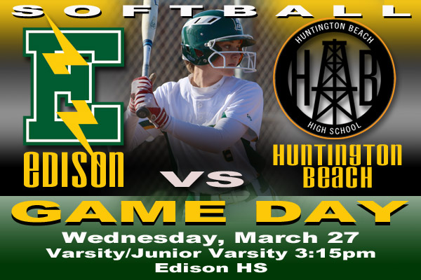Edison Chargers Game Day 3-27-19