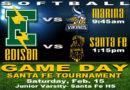 JV Feb. 15 Santa Fe Tournament Games