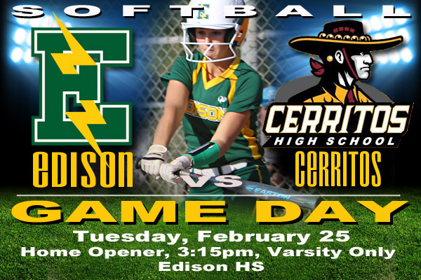 Edison Chargers vs Cerritos, Feb. 25, 2020