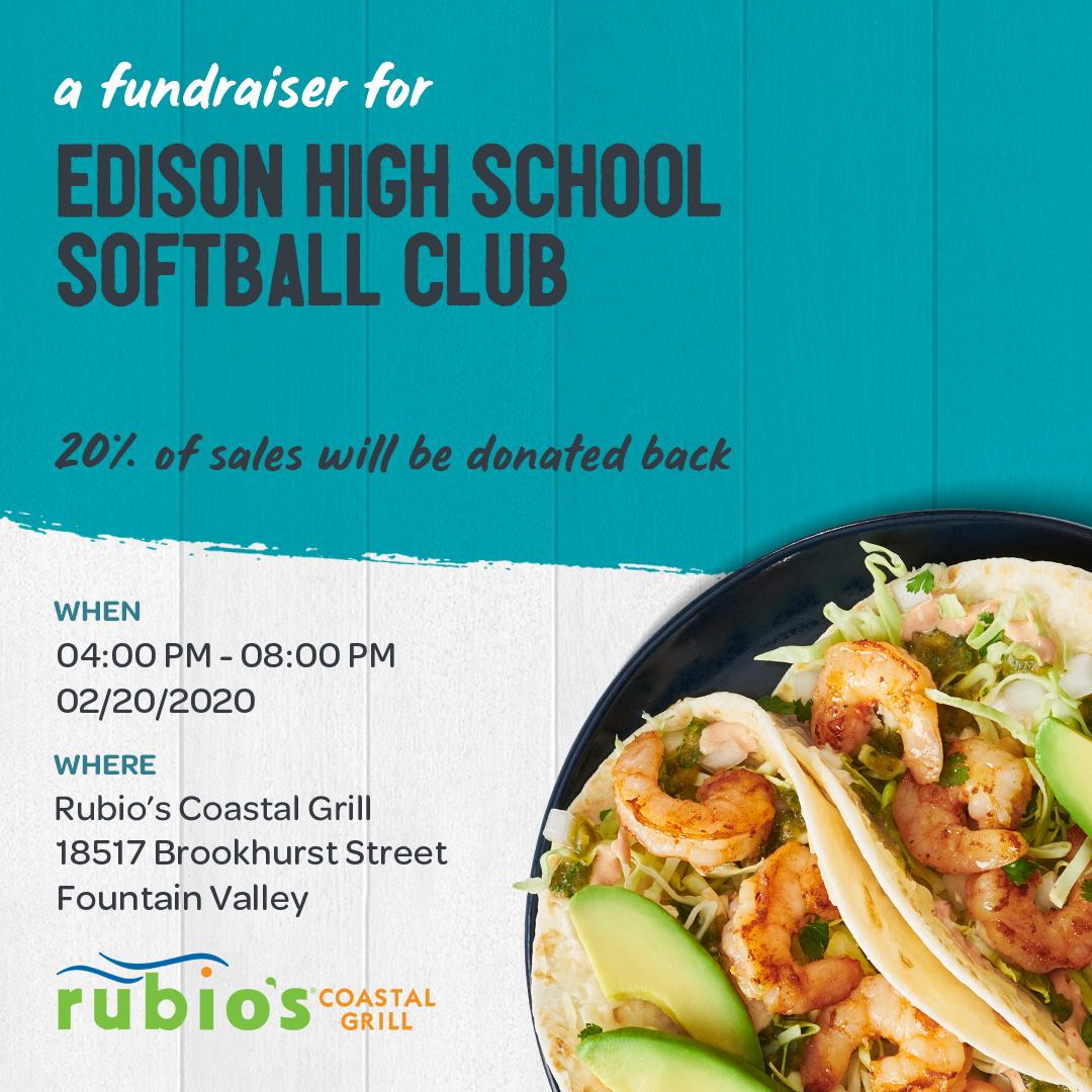 Softball Rubio's Social Media Banner
