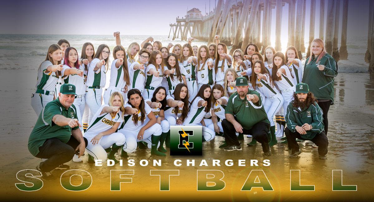 Edison Chargers Softball
