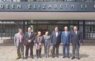 نائب رئيس جامعة  الأزهر  يشارك في  مؤتمر الانطلاق للعالمية  بلندن