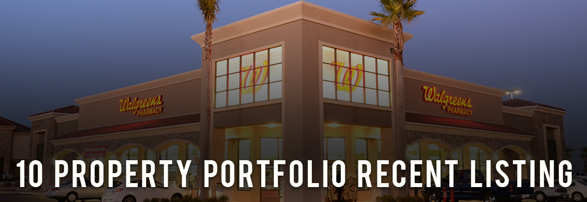 Walgreens For Sale 10 Property Portfolio