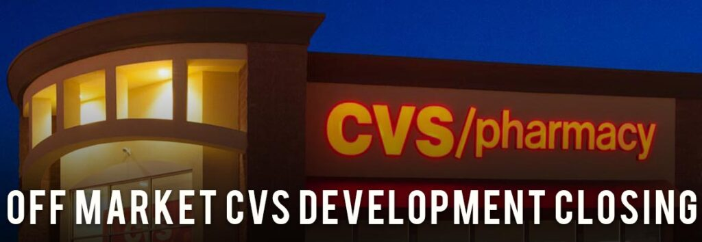 CVS For Sale Development Closing